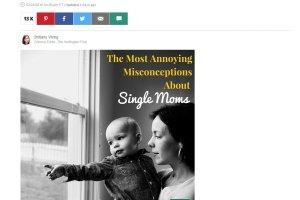 14 zarzutów stawianych matkom, które samodzielnie wychowują dzieci