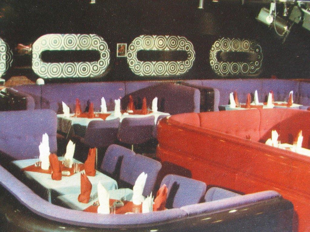 """Wnętrza hotelu """"Victoria"""" w Warszawie z pisma """"Architektura"""", nr 3-4 (1978) (reprodukcja z prywatnych zbiorów Andrzeja Szczerskiego)"""