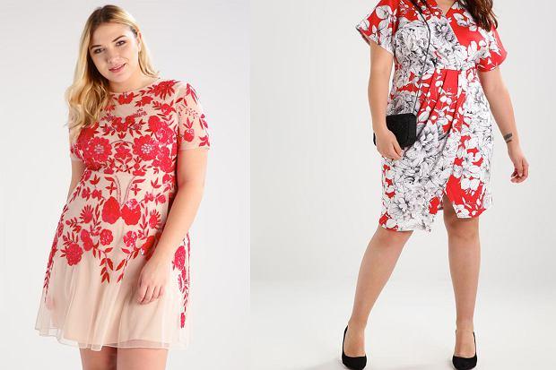 214a036caff69 Sukienka w kwiaty dla puszystych - idealne fasony [moda plus size]