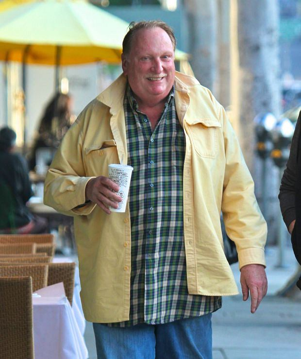 ?NATIONAL PHOTO GROUP   Known for his roles in Ferris Bueller's Day Off and Beetlejuice, Jeffrey Jones grabs food at Chipotle in Beverly Hills .  Job: 031212J8  EXCLUSIVE March 12th, 2012 Beverly Hills, CA  NPG.com