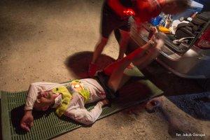 Niepełnosprawny maratończyk pokonał drogę przez piekło