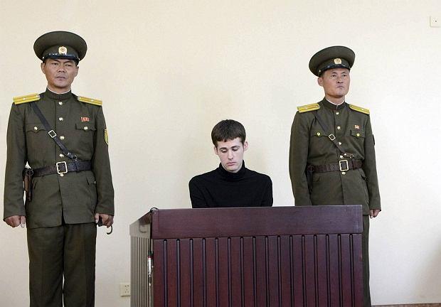 Matthew Todd Miller przed północnokoreańskim sądem