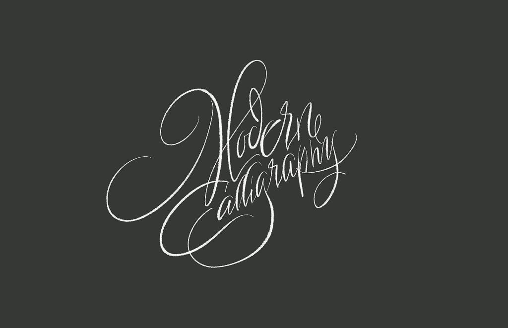 Kaligrafia, modern calligraphy / Ewa Landowska