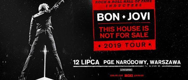 Bon Jovi zagra na Stadionie Narodowym w Warszawie 12 lipca 2019 r.