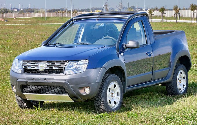 dacia duster pick up edycja limitowana. Black Bedroom Furniture Sets. Home Design Ideas