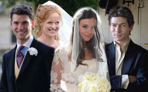 Harry Mead, Alicia Fox-Pitt, Natasha Rufus Isaac,  Sam Waley-Cohen