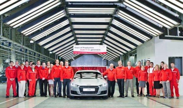 Nowe Audi TT | Produkcja ruszy�a