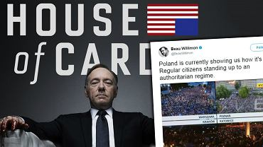 Wpis twórcy 'House of Cards'