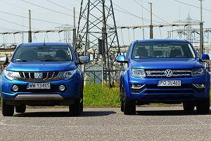 """Porównujemy Mitsubishi L200 i VW Amaroka. """"Dwie definicje pickupa"""""""