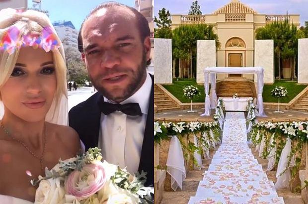 Doda i Emil Stępień w minioną sobotę wzięli ślub! Wesele odbyło się w 5-gwiazdkowym hotelu.