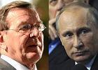 Gerhard Schroeder t�umaczy si� ze swojej za�y�o�ci z Putinem