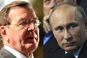Media: b. kanclerz Niemiec Schroeder �wi�towa� urodziny z Putinem