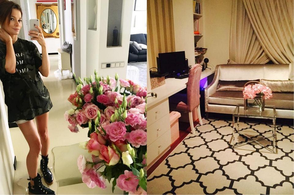 Zdjęcie numer 0 w galerii - Maja Bohosiewicz żyje jak księżniczka! Dzięki Instagramowi możemy podziwiać jej luksusowe mieszkanie