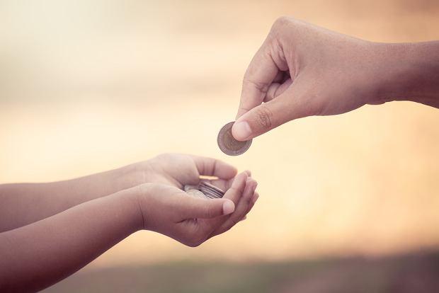 Małe dzieci zwykle nie zdają sobie sprawy z rzeczywistej wartości pieniędzy. Dla nich im więcej pieniędzy (niezależnie jakich), tym lepiej