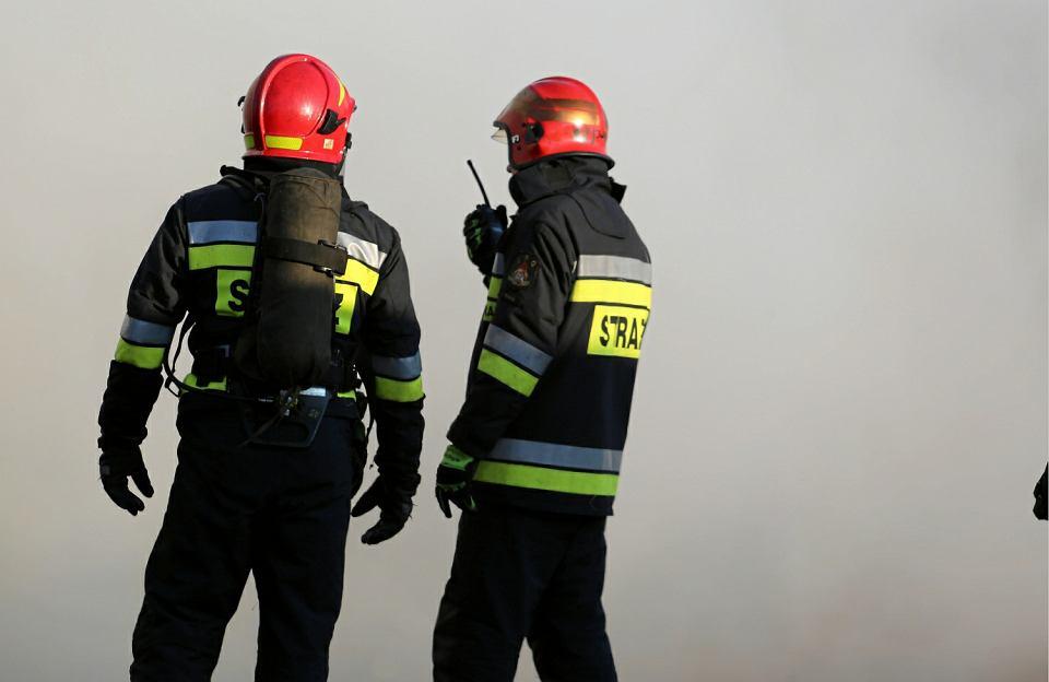 Zaprószenie Ognia Przyczyną Pożaru Z Piwnicy Wydobywał Się Czarny Dym