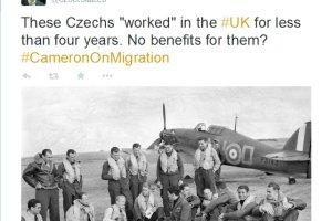 """Czeski minister ostro do Camerona: A tym """"pracownikom"""" zasi�ki si� nie nale��?"""