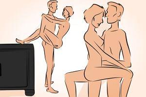 Najlepsze pozycje seksualne, gdy penis wydaje się ZA DUŻY