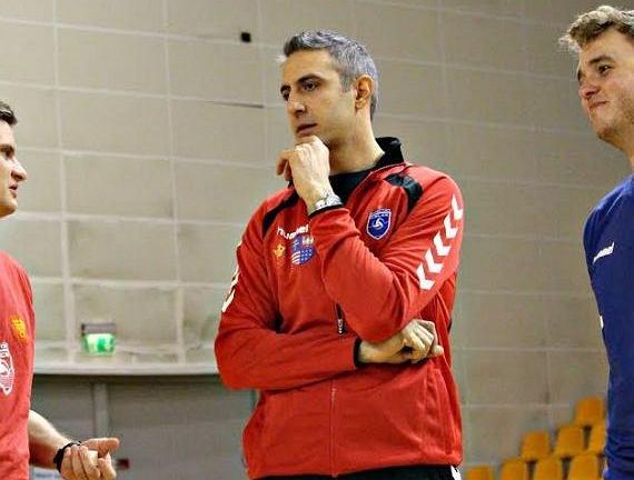 Sinan Tanik na pierwszym treningu Effectora