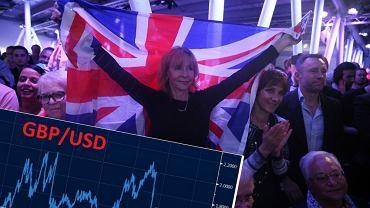 Zwolennicy Brexitu cieszą się z wyników referendum
