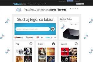 Serwis muzyczny Tuba.FM na Netia Playerze