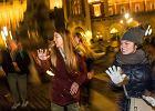 Taniec przeciwko przemocy wobec kobiet na Rynku Głównym