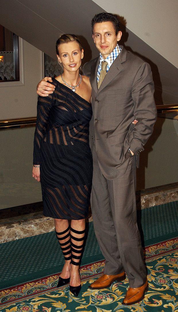 Jacek Bąk z żoną Anną