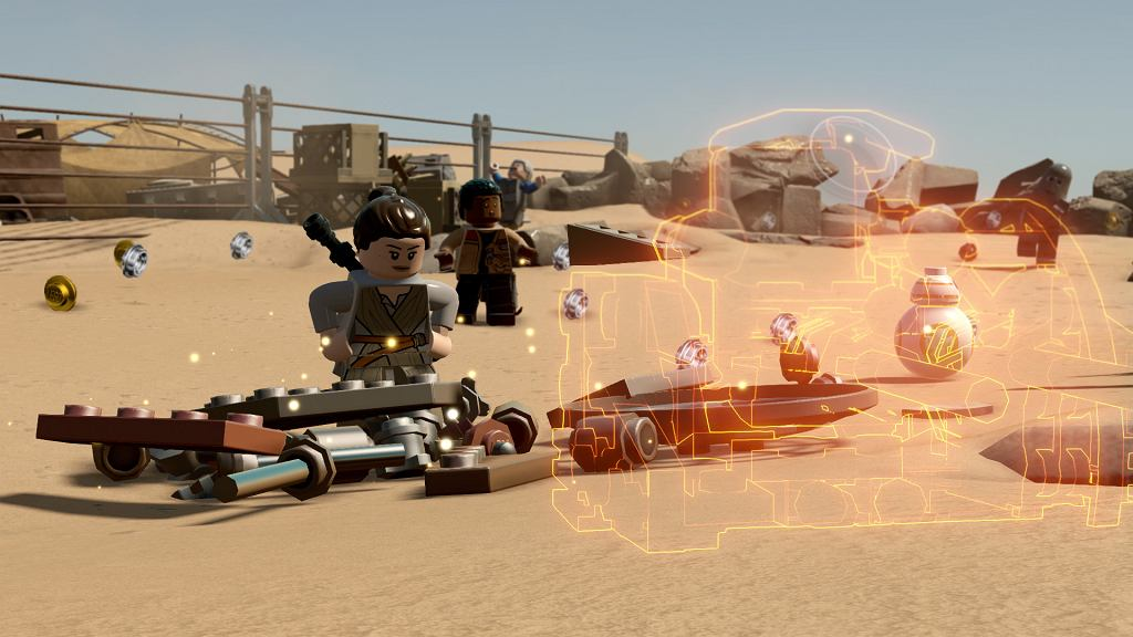 LEGO Gwiezdne Wojny: Przebudzenie Mocy - kadr z gry