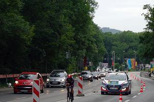 Tour de Pologne w Krakowie. Utrudnienia dla kierowców