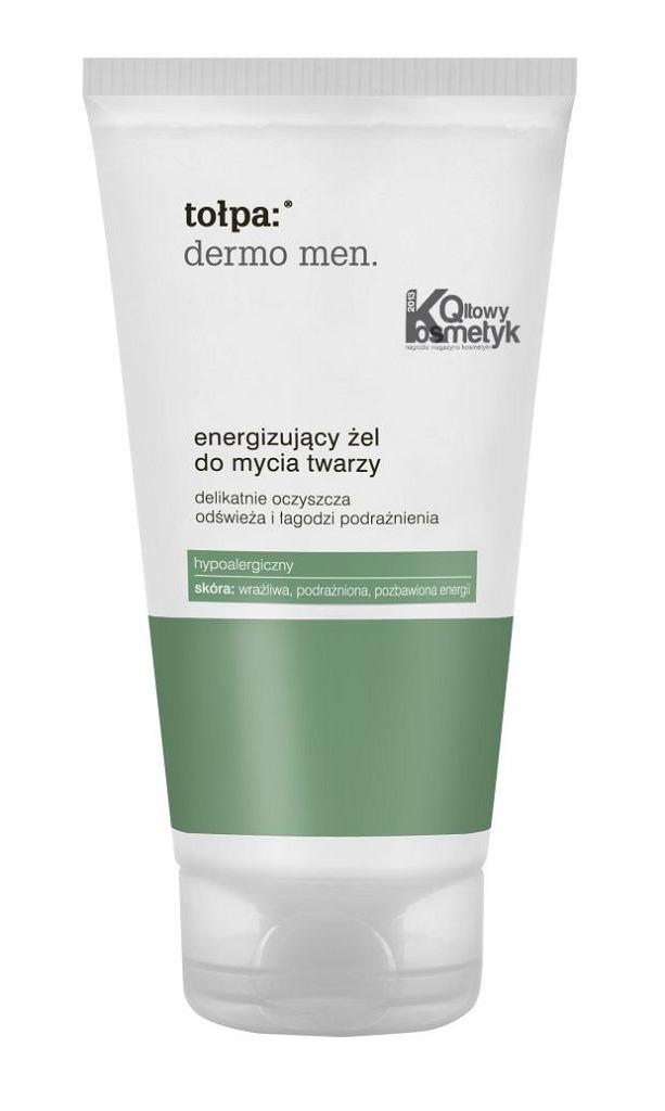 Tołpa: dermo men. Energizujący żel do mycia twarzy, 150 ml/23,99 zł
