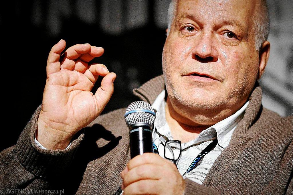 Haynd Bendall podczas spotkania na Festiwalu Soundedit / Fot. Tomasz Stańczak / Agencja Gazeta