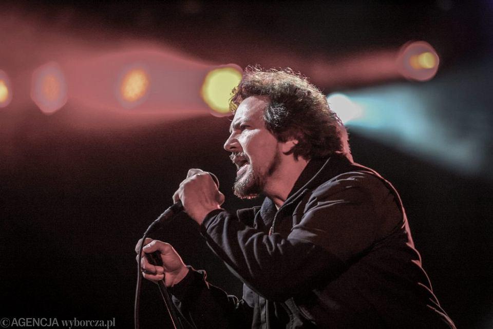 Eddie Vedder z zespołu Pearl Jam