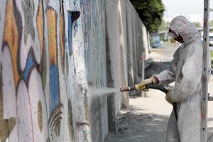 Graffiti wróci na mur Toru Wyścigów Konnych. W sobotę malowanie