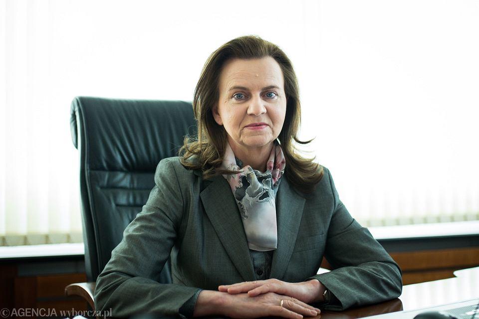 Dyrektor ZUS Gertruda Uscinska