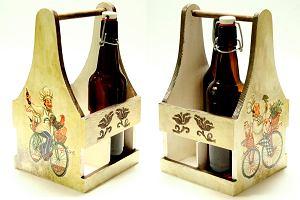 DIY: Pojemnik na butelki w duchu vintage