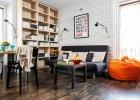Mały salon w bloku - aranżacje