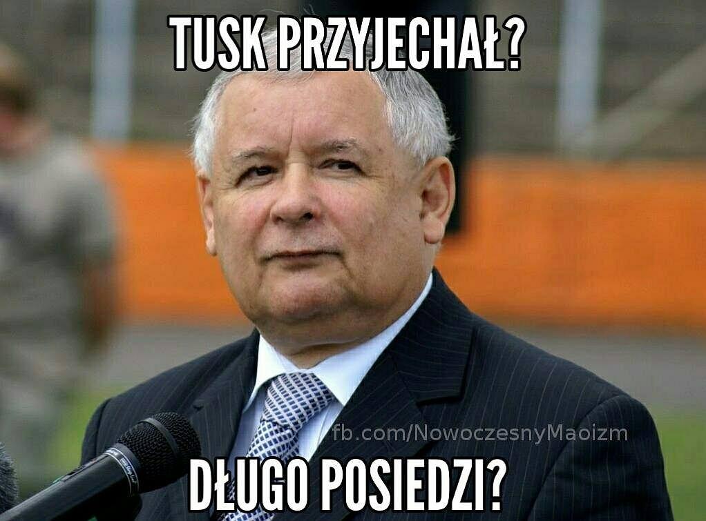 Donald Tusk w Warszawie