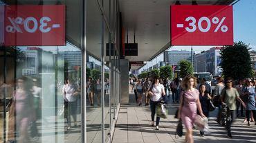 Ulice handlowe w Warszawie