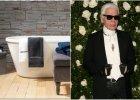 Karl Lagerfeld projektuje ręczniki dla... Carrefoura. To nie żart, to aktualna promocja