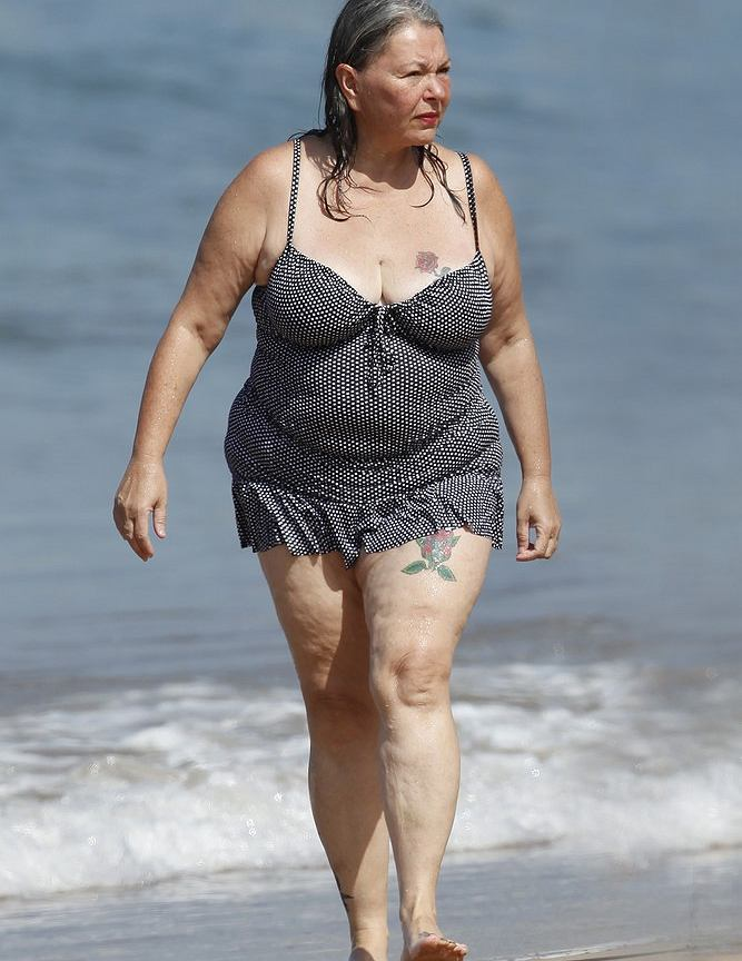 nude photos of roseanne barr