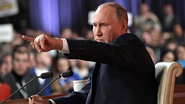 Doroczna konferencja Władimira Putina z dziennikarzami