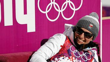 Szczęśliwa Justyna Kowalczyk. To jej drugie olimpijskie złoto!
