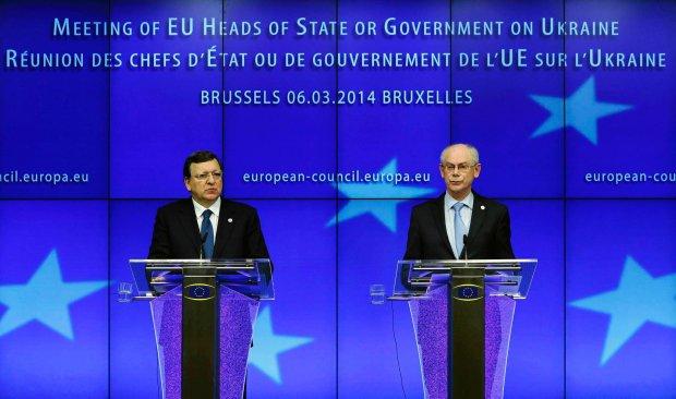 Jose Manuel Barroso i Herman Van Rompuy
