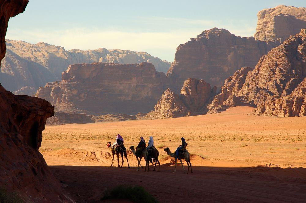 Pustynia Wadi Rum, Jordania / fot. Shutterstock