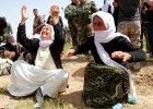 """Jazydki w niewoli IS. """"Publicznie gwa�cili kobiety. Matki, kt�re nie chcia�y odda� c�rek, by�y torturowane"""""""