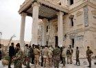 Palmira, jeden z największych skarbów cywilizacji, odbity z rąk IS. Nagranie z drona pokazuje skalę zniszczeń