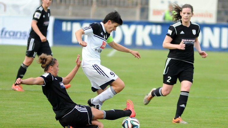 Medyk Konin - Glasgow City FC 2:0. Anna Gawrońska