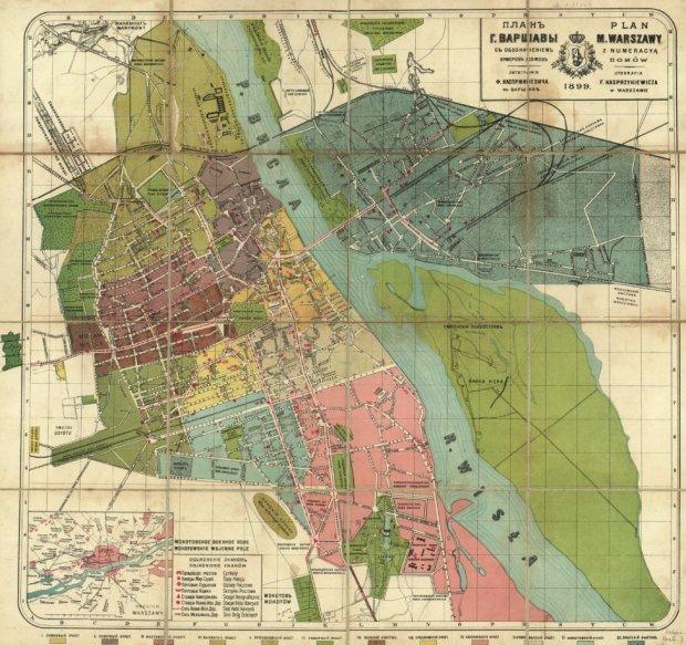 Mapy Warszawy