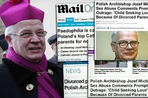 Kielczanka pozywa arcybiskupa Michalika. Za s�owa o przyczynach pedofilii