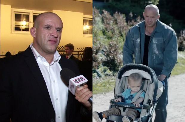 """Tomasz Oświeciński w dwóch częściach """"Pitbulla"""" wciela się w postać """"Stracha"""". O swojej roli opowiedział w rozmowie z Plotek.pl."""
