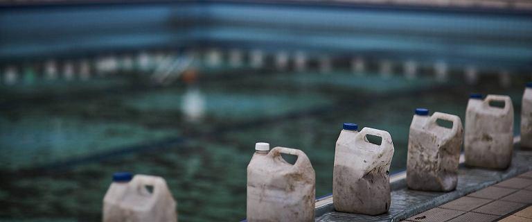 Aquapark Fala. Zewnętrzne baseny zabezpieczone przed zimą [ZDJĘCIA]